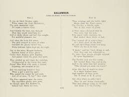 Halloween Is Coming Poem The Bu Libraries Digital Collections Blog Category University