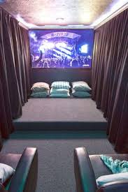 Theatre Room Design - our home theater room the reveal hang curtains darkness and room