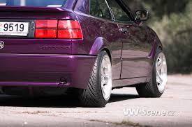 volkswagen corrado purple vw corrado g60 vw scene