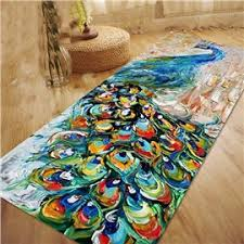 Peacock Area Rug Area Rugs And Carpets Beddinginn Com