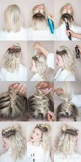 hair tutorials for medium hair medium length hair hairstyles with braids