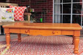 Pine Coffee Table Pine Coffee Table Makeover Farmhouse Style Lost U0026 Found