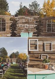 Backyard Fall Wedding Ideas On Trend Diy Backyard Fall Wedding