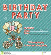 Children Birthday Invitation Card Children U0027s Birthday Invitations