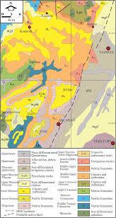 Mta Map Fatma Gedik Phd General Directorate Of Mineral Research And