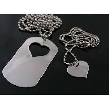 his and hers dog tags his and hers jewellery australia matching necklaces