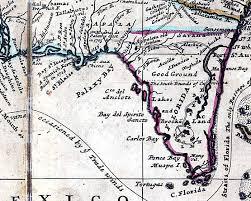 louisiana florida map map of florida 1720