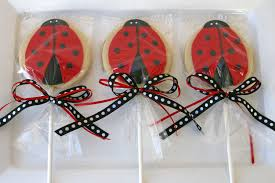 ladybug cookies ladybug cookies on a stick ladybug cookies made to be fa flickr