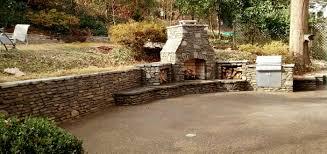 stone retaining wall and stone fireplace crane hardscape supply stone retaining wall and stone fireplace