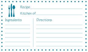 printable recipe cards template recipe card templates complete guide exle
