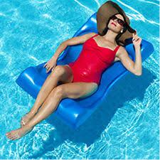 aqua cell deluxe aqua hammock pool float 48 in x 27 in blue
