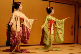 geisha wiki ii amatsu okiya two maiko performing in gion the lady