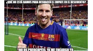 Memes Sobre Messi - los mejores memes de la victoria de barcelona sobre el real y un