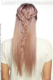 plait at back of head hairstyle 20 gorgeous formal half updos you ll fall in love with