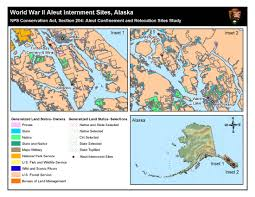 Southeast Alaska Map Evacuation And Internment 1942 1945 Aleutian World War Ii