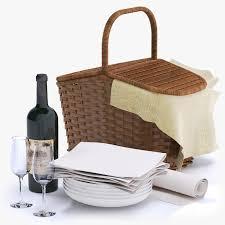 Wine Picnic Basket Basket Wine Bottle Max