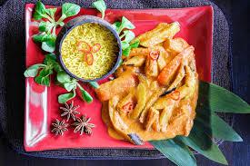 cuisine thailandaise traditionnelle cuisine thaïlandaise mélange végétal traditionnel photo stock