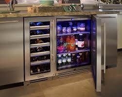 kitchen captivating wine and beverage cooler adjustable wooden
