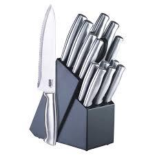 kitchen knives block set cook n home 15 knife block set reviews wayfair
