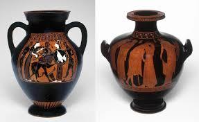 Greek Vase Images Black Figure Vs Red Figure Ancient Greek Vase Painting Techniques