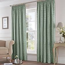 Duck Egg And Gold Curtains Pencil Pleat Curtains View Curtains Online Now Terrys Fabrics