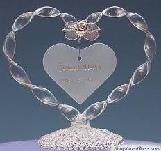 heart wedding cake toppers heart wedding cake topper