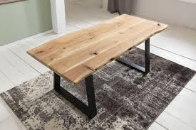 Esszimmertisch 200 X 120 Finebuy Esszimmertisch Baumstamm Massivholz Akazie 200 X 100 Cm
