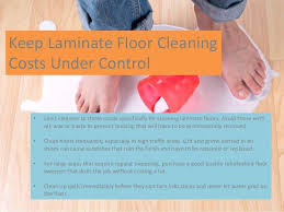 a how to guide on caring for laminate flooring