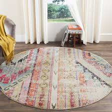 Round Rug 6 by Rug Mnc222f Monaco Area Rugs By Safavieh