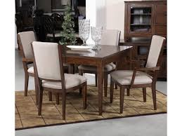 kincaid furniture elise five piece dining set with upholstered