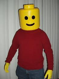 Lego Brick Halloween Costume Lego Man Costume 8 Steps Pictures