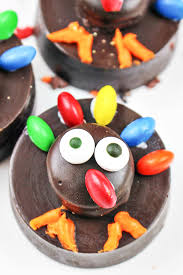 thanksgiving turkey oreo cookies easy food craft