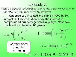 compound interest 8 2 part 2 compound interest a u003d final amount p