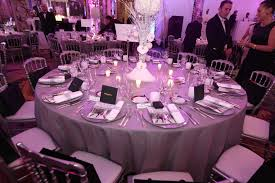 the elegant table setting with gifts from audemars piguet