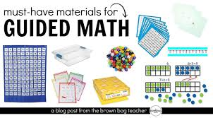 guided math in 1st grade the brown bag teacher