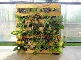 pallet vertical garden gardening ideas