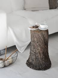 Pear Home Decor Fall Decor How To Style A Tree Trunk At Home