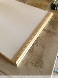 How To Make Kitchen Cabinet Doors From Plywood by Simple Diy Cabinet Doors Make Cabinet Doors With Basic Tools
