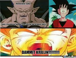 Krillin Meme - krillin is still the meme king dragonballz amino