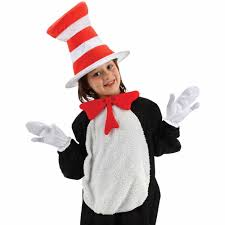 cat in the hat costume cat in the hat accessory kit child accessory walmart