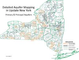 upstate ny map groundwater resource mapping nys dept of environmental conservation