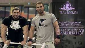 dmitry klokov on front squats hyperextensions squat jumps u0026 more