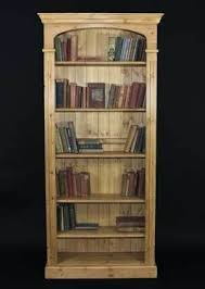 Double Bookcase Bookcase Colonial Reclaimed Pine Double Bookcase Antique Pine