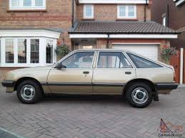 opel gold 1984 vauxhall cavalier mk2 gl hatch back antique gold 8 750 miles