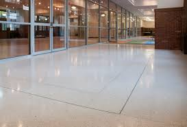 flooring imperial terrazzo floor and glass walls plus ceiling