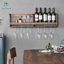 wall hung kitchen cabinets louis fashion kitchen cabinets black walnut solid wall hung wine rack simple wall restaurant hanging cup holder