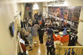 clothes shop harlem church turns into chic shop at fifth annual clothing drive