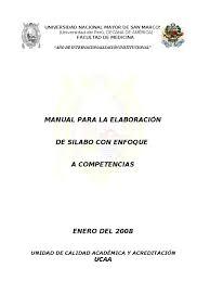 manual de silabo por competencia unmsm