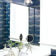 wallpaper in bathroom ideas fish wallpaper bathroom blue fish pattern wallpaper design ideas
