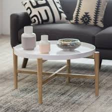 mid century round coffee table mid century modern coffee tables hayneedle